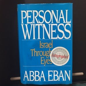 Signed Israel Book 🇮🇱